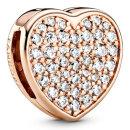 판도라 참 788684C01 PANDORA REFLEXIONS PAVE HEART