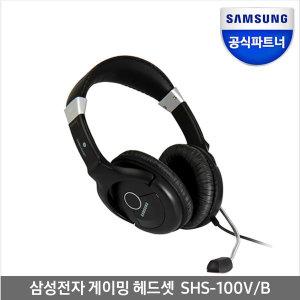 게임 어학 채팅용 헤드셋 SHS-100V/B 블랙