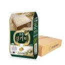 진품경기미 쌀 20kg (10kg+10kg 박스포장) 19년산/쌀