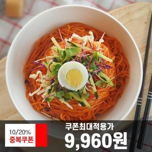 쫄면10인분세트 면+쫄면장+비빔장5봉/ 2세트시 어묵탕