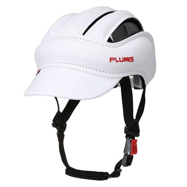 플루미스 헤드기어 화이트 자전거모자 자전거용품