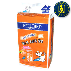벨버드 패드 레몬 50매 x 4개 강아지패드