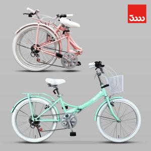 접이식자전거 미니벨로 메이비 22인치 생활형 자전거