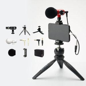 Alfoto 올포토 QMic 큐마이크 카메라마이크세트(레드)