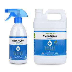 메디아쿠아 4리터 살균소독제 탈취제 바이러스 예방