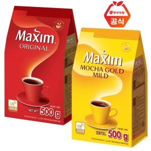 무료배송/맥심 모카골드500g/ 맥심오리지날 500g/커피