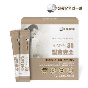 최진규  의 38 발효효소 1박스 (3g / 30포 x 1박스)/국내산 유기농 발효효소