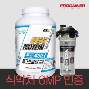 프로게이너 에그프로틴 쿠키앤크림 계란 단백질 헬스