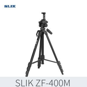 정품 슬릭 ZF-400M 3way헤드 삼각대 휴대폰홀더 포함