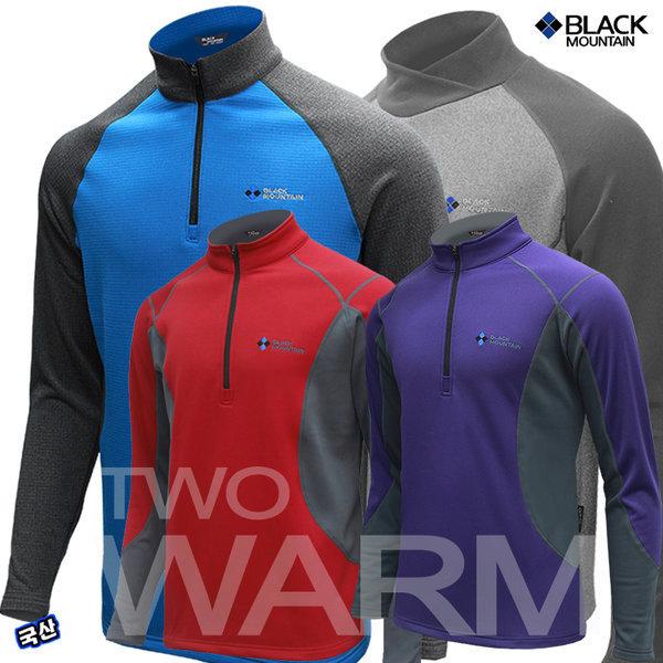 블랙마운틴 와플투웜 등산티(겨울 등산티셔츠 티셔츠