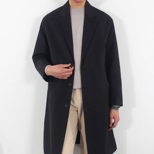 남자 루즈핏 싱글코트 빅사이즈 간절기 코트 자켓