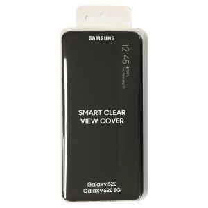 (블랙) 정품 갤럭시 S20 전용 클리어뷰 커버 EF-ZG980