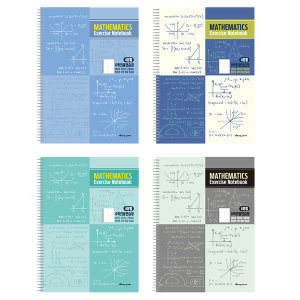 3000 수학연습장(1/4분할) 과목노트 필기 공책