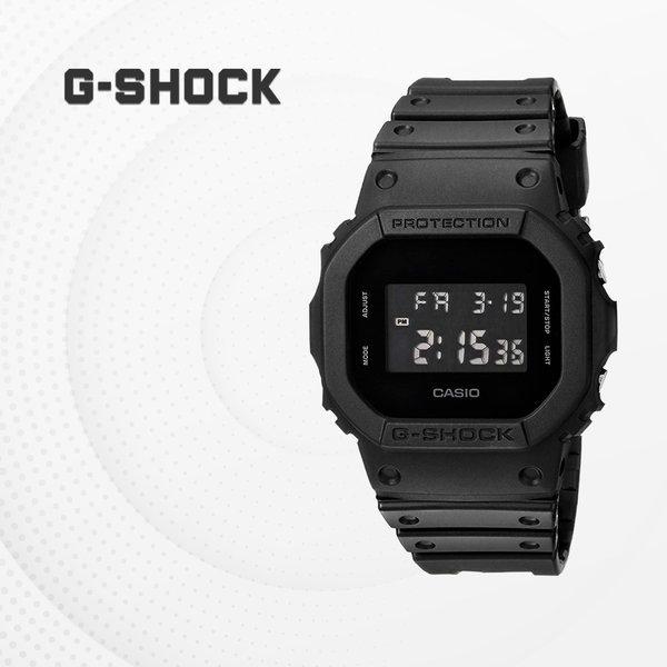 G-SHOCK 우레탄 패션시계 군인 군용시계 DW-5600BB-1