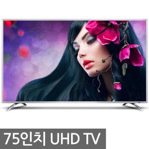 UHDTV 75인치 4K 티브이 LED 텔레비젼 대형TV 삼성패널