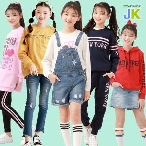 봄 주니어 여아 의류 초등학생옷 레깅스 멜빵치마바지