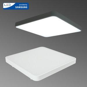 LED방등 이루 50W 국산 사각 아크릴방등 LED삼성칩