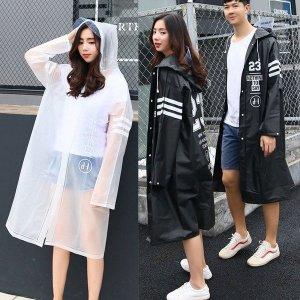 우비 우의 비옷 남자 여성 커플 레인코트 판초 패션