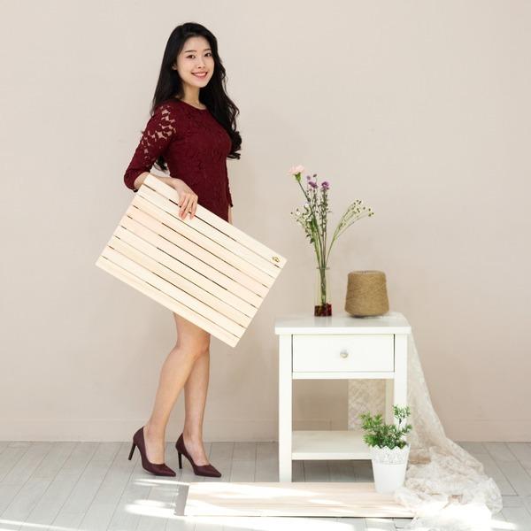 편백나무 항균매트 발매트(대형) 베란다매트 나무발판