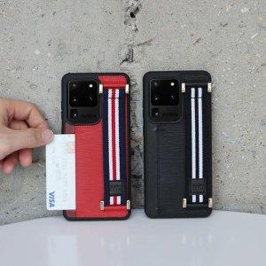 (신세계김해점)밴딩 스트랩 카드케이스 VER.2 (ITM16149) -갤럭시S20 갤럭시S20플러스 갤럭시S20울트라