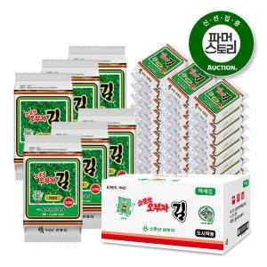 (소문난오부자) 파래김 도시락김 5gX72봉/ 6월생산