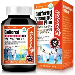버퍼드비타민C 1000 비타민D 600 아연 9mg 중성비타민