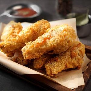 닭다리후라이드 1kg +1kg+치킨무