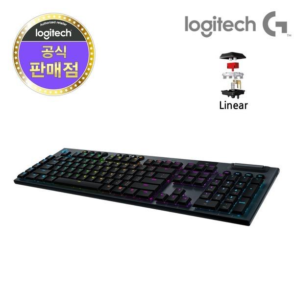 로지텍코리아 G913 WIRELESS 무선게이밍키보드 Linear