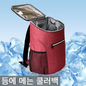 등에 메는 가방식 베낭형가방/보냉백/보냉가방/캠핑
