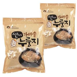 가마솥 누룽지 500g 쌀눈이살아있는 영양가득 웰빙식품
