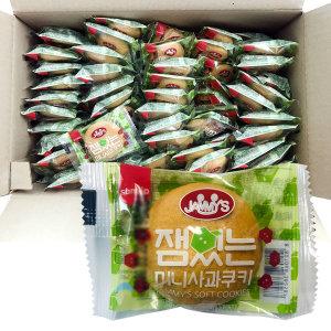 잼있는미니사과쿠키 16g  1박스 (100개입)