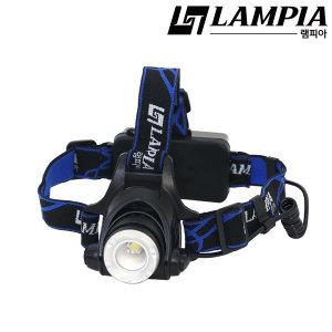 램피아 LP-202 충전식 LED헤드랜턴 LP-202 충전식