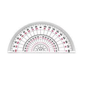 학습교재용 각도기/각도기/분도기/삼각자