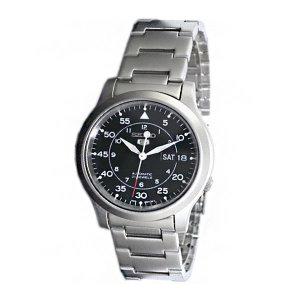 SEIKO 세이코 손목시계 남성 메탈 시계 SNK809K1 블랙