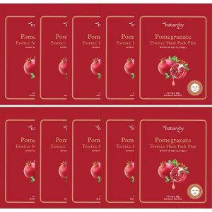 석류 에센스 마스크팩 플러스 100매 텐셀시트