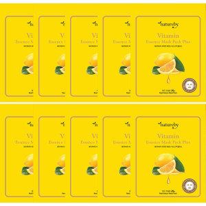비타민 에센스 마스크팩 플러스 100매 텐셀시트