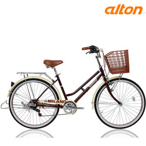 알톤 클래식 여성용자전거 밀라노24형 7단
