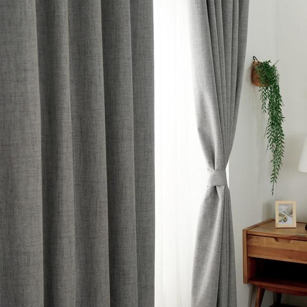 (1+1) 3중직 암막커튼/커텐/거실/창문/커튼/봉/방풍