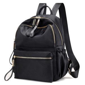 N81 가죽 여성 백팩 가벼운 여행용 미니 가방