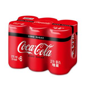 코카콜라_코카콜라제로_215MLx6
