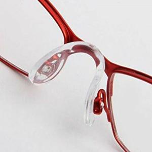 U자형 코패드 코받침 일체형 나사형 실리콘 교체 안경