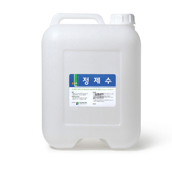 정제수18L/증류수/화장품제조/지게차 배터리 충전용