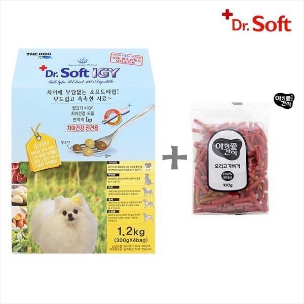닥터소프트 IGY 1.2kg(치아건강 개선) + 간식증정