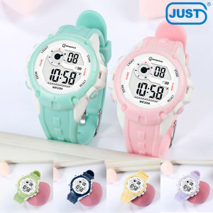 3기압방수 어린이 초등학생 전자손목시계 7색 MR-8202