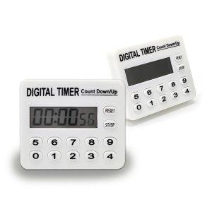 디지털 타이머 무소음 스터디 주방 타이머 스톱워치