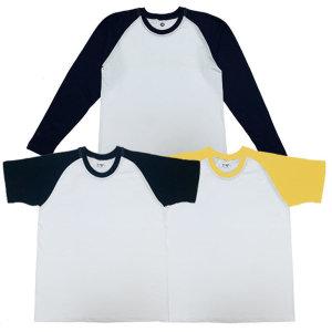 20수 나그랑 반팔 긴팔 티셔츠 기본 무지 단체 인쇄