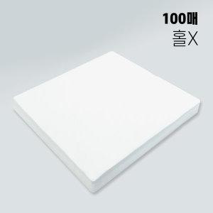 자국방지부직포(구멍X)수제마스크/정전기필터용/100매