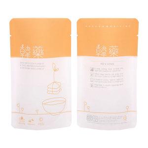 한약봉지/내추럴 한약 오렌지 100매/스탠딩파우치