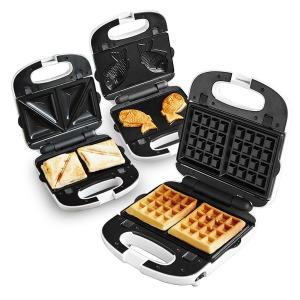 간식메이커 3종 와플기계 샌드위치 붕어빵 WSW-6137