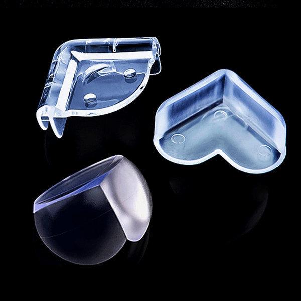 영유아 안전을위한 투명 실리콘 모서리보호대